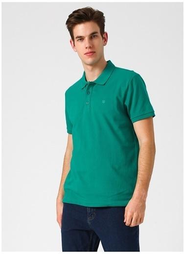 Limon Company Limon Koyu Yeşil Polo T-Shirt Yeşil